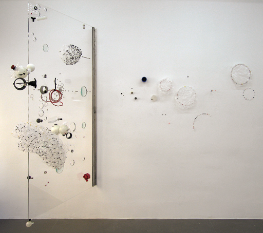 Sofi Zezmer 'REM LS1' (2008) Metal, plexi and glass
