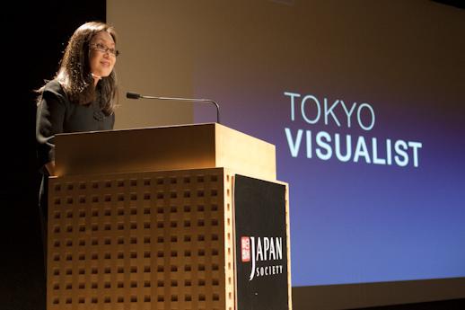 Tokyo Visualist's publisher and curator, Masako Shinn.