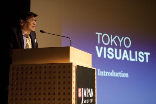 Tokyo Visualist's publisher and curator, Satoru Yamashita.