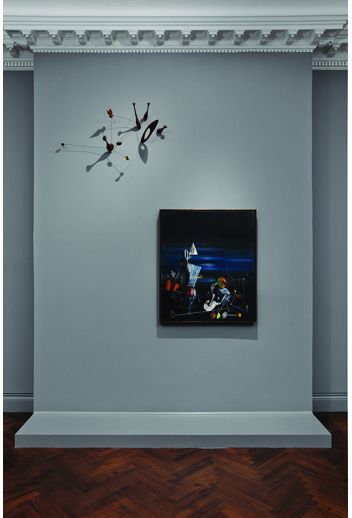Alexander Calder and Yves Tanguy installation view. Courtesy L&M Arts / Tom Powel Imaging, Inc.