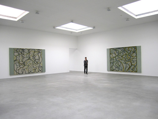 Matthew Marks Gallery, Brice Marden Exhibition
