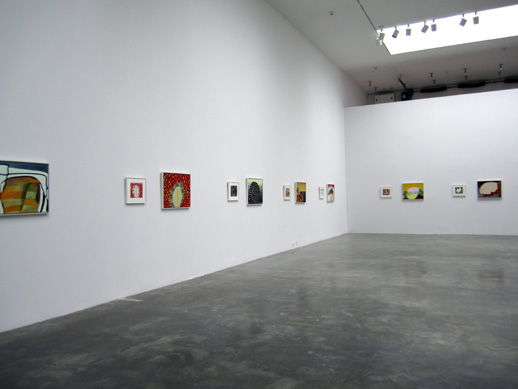 Thomas Nozkowski Exhibition/ The Pace Gallery