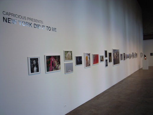 Installation at Smack Mellon of photography from 33 New York based photographers.