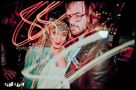 Jocelyn Saldana and Breedlove at Ladyland, Hudson Hotel. Photograph: Ash Fox and Kelle Calco.