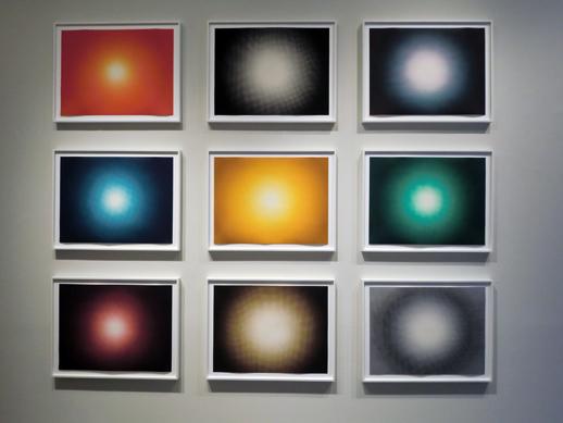 Anish Kapoor 'Shadows I, II, III' installation view