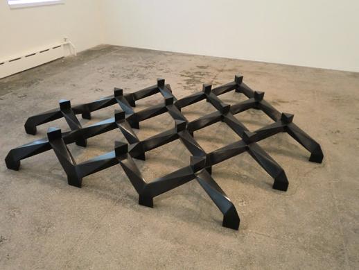 Tony Smith 'Bronze' installation view
