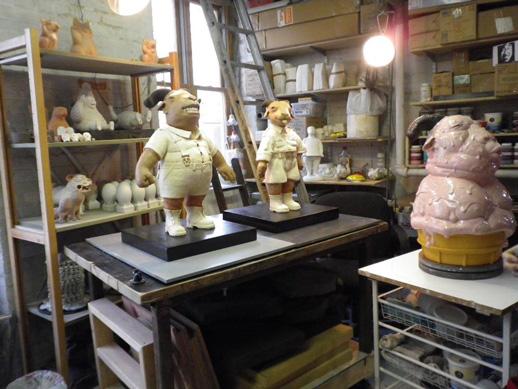 studio visit: Kenjiro Kitade