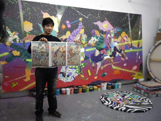 studio visit: Tomokazu Matsuyama
