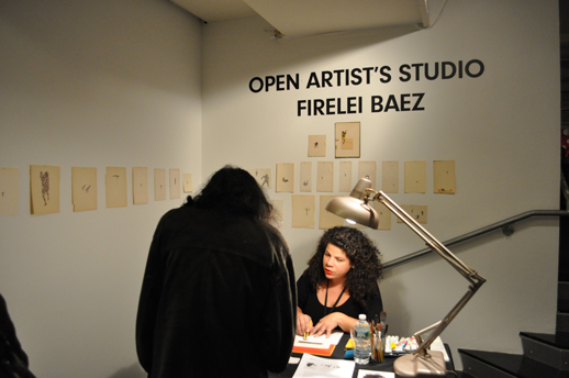 Open Artists Studio with Firelei Baez.