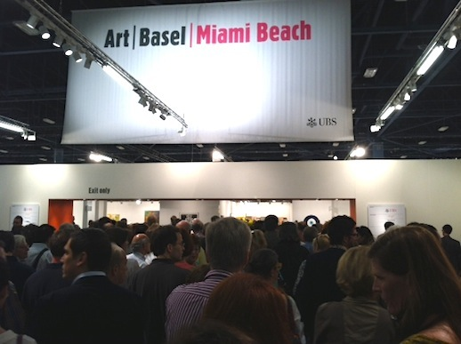 Art Basel Miami Beach convention center opening day for the masses on Thursday, at 11am!
