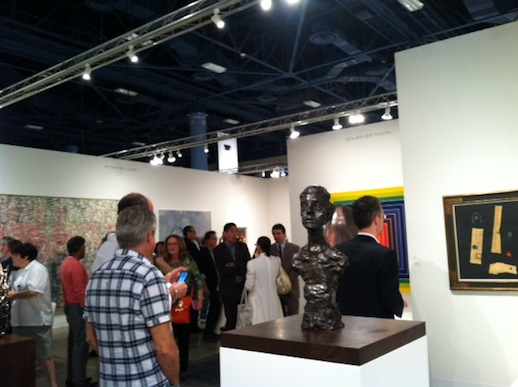 Richard Gray gallery had some lovely pieces displayed at Art Basel Miami!