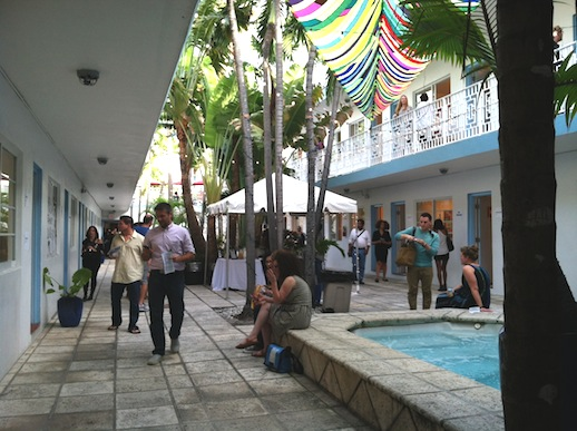Miami's AQUA art fair was light and airy and fun!