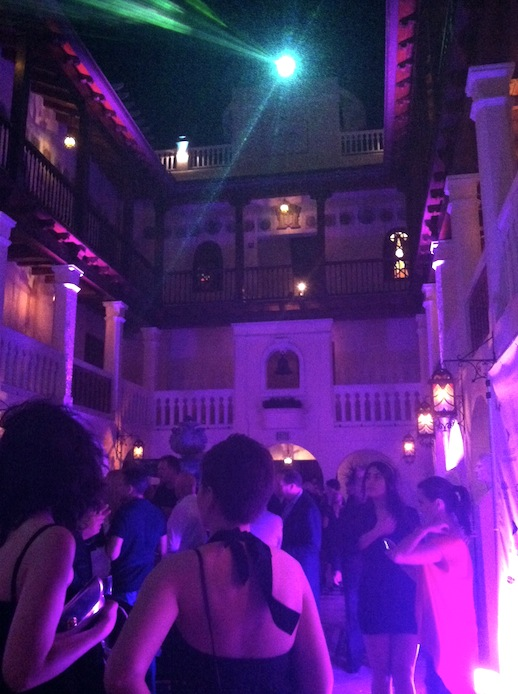 Lots of fun events happening in Miami this year.  This is an image inside the Villa by Barton G. (The former Versace Mansion). This private event was launching the portfolio debut of Worhol images by NY based photographer, William John Kennedy.