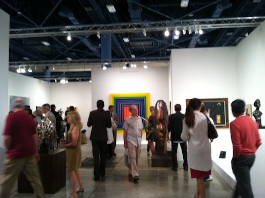 Busy pace at Art Basel Miami's first day!
